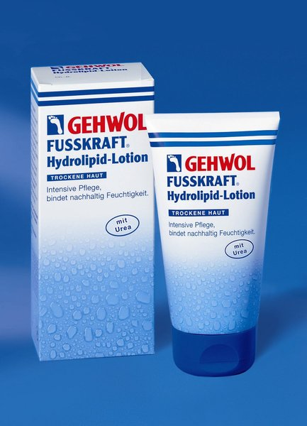 GEHWOL FUSSKRAFT Hydolipid-Lotion 125 ml.